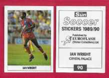 Crystal Palace Ian Wright England 90